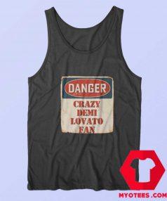 Crazy Demi Lovato Fan Music Artist Vintage Tank Top