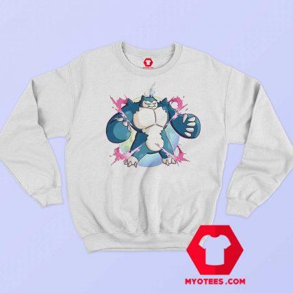 Cute Super Mega Pokemon Snorlax Unisex Hoodie