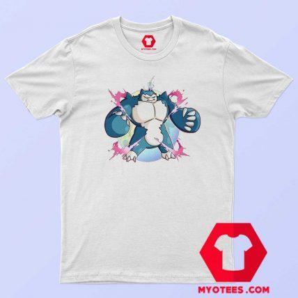 Cute Super Mega Pokemon Snorlax Unisex T Shirt