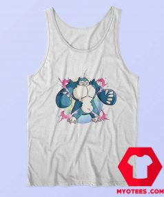 Cute Super Mega Pokemon Snorlax Unisex Tank Top