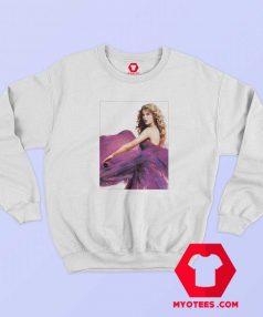 Cute Taylor Swift Speak Now Album Photo Sweatshirt