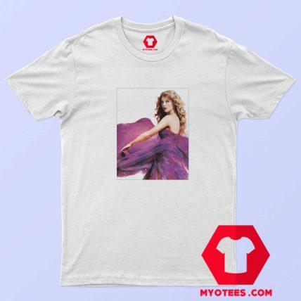 Cute Taylor Swift Speak Now Album Photo T Shirt