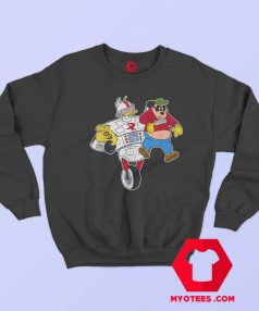 Disney Gizmoduck and Beagle Boy DuckTales Sweatshirt