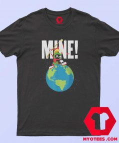 Earth Looney Tunes Marvin The Martian Mine T Shirt