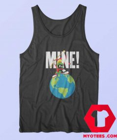 Earth Looney Tunes Marvin The Martian Mine Tank Top
