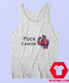 FUCK CANCER Fight For Cancer Unisex Tank Top