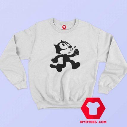 Felix The Cat Vintage Cartoon Unisex Sweatshirt