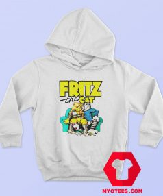 Fritz The Cat Retro Adult Cartoon Fan Hoodie