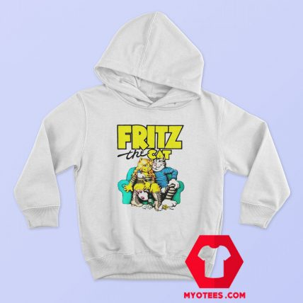 Fritz The Cat Retro Adult Cartoon Fan Hoodie