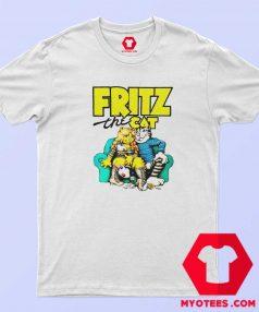 Fritz The Cat Retro Adult Cartoon Fan T Shirt