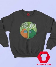 Funny Discuss Game Among Graphic Sweatshirt