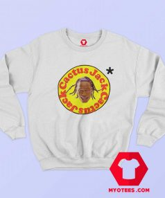 Funny Head Face Travis Scott x Mcdonalds Sweatshirt