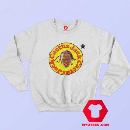 Funny Head Face Travis Scott x Mcdonalds Sweatshirt