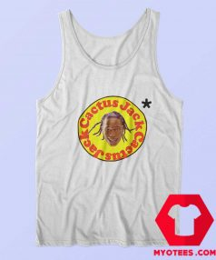 Funny Head Face Travis Scott x Mcdonalds Tank Top
