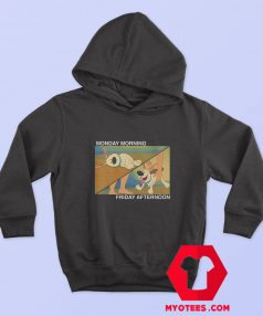 Funny Little Brother Monday Friday Hoodie