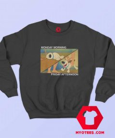 Funny Little Brother Monday Friday Sweatshirt