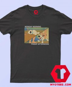 Funny Little Brother Monday Friday T Shirt