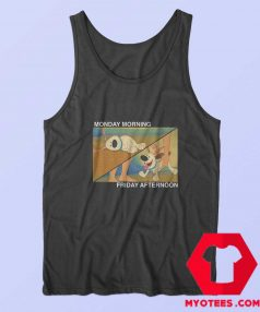Funny Little Brother Monday Friday Tank Top