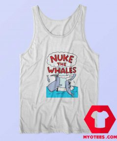 Funny Nuke The Whales Breathable Unisex Tank Top