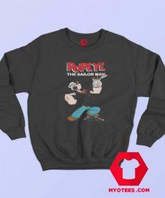 Funny Popeye The Sailor Man Vintage Sweatshirt