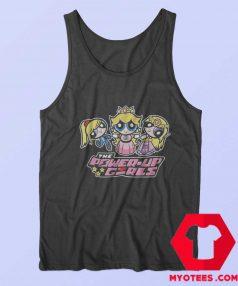 Funny Powepuff Girls Super Mario Unisex Tank Top