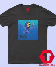 Funny Skeletor Mastersx Nirvana Album T Shirt