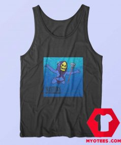 Funny Skeletor Mastersx Nirvana Album Tank Top