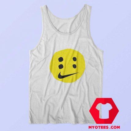 Funny Smile Nike Emoticons Unisex Tank Top
