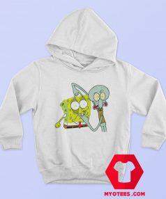 Funny Squidward And Spongebob Fan Art Hoodie