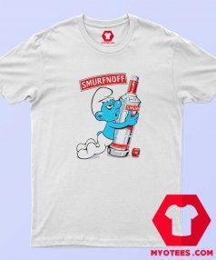 Funny The Smurfs parody Smurfnoff Unisex T Shirt