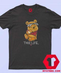 Funny Thug Life Winnie the Pooh Unisex T Shirt