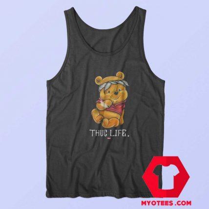 Funny Thug Life Winnie the Pooh Unisex Tank Top