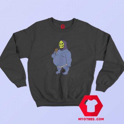 Funny Vinatege Fat Skeletor Unisex Sweatshirt
