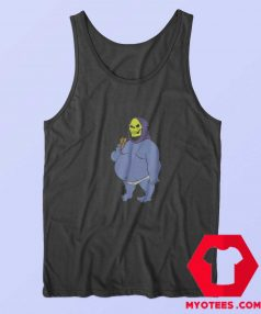 Funny Vinatege Fat Skeletor Unisex Tank Top