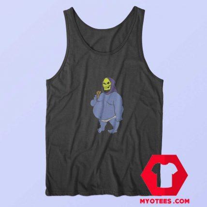 Funny Vinatege Fat Skeletor Unisex Tank Top