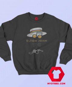 Hat Elton John Hat Signature Vintage Sweatshirt