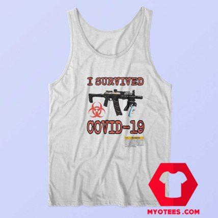 I Survived Covid 19 Supreme Travis Scott Tank Top