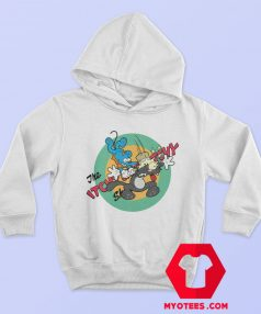 Itchy Scratchy Mouse Cat Krusty Clown Hoodie
