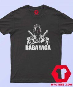 John Wick Dual Handguns The Babayaga T Shirt