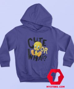 Looney Tunes Tweety Cute or What Unisex Hoodie