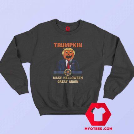 Make Halloween Great Again Funny Trump Sweatshirt