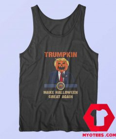 Make Halloween Great Again Funny Trump Tank Top