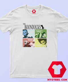 New The Boondocks Cartoon Animated T Shirt