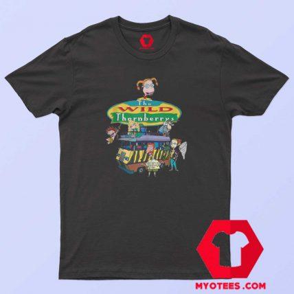 Nickelodeon Wild Thornberries Family T Shirt