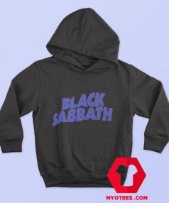 Official Black Sabbath Purple Logo Hoodie