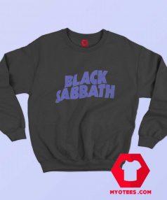 Official Black Sabbath Purple Logo Sweatshirt