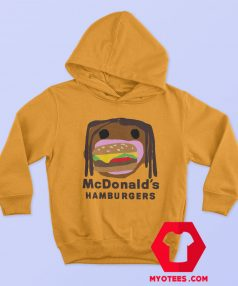Official CPFM Burger Travis Scott x Mcdonalds Hoodie