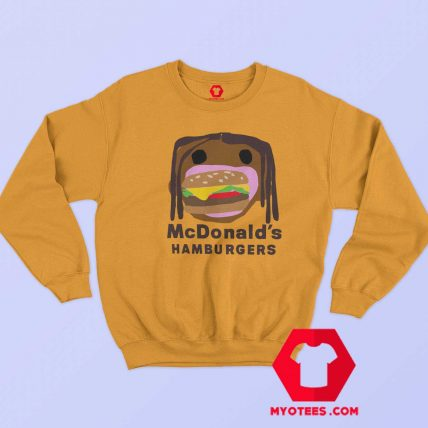 Official CPFM Burger Travis Scott x Mcdonalds Sweatshirt