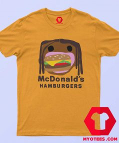 Official CPFM Burger Travis Scott x Mcdonalds T Shirt