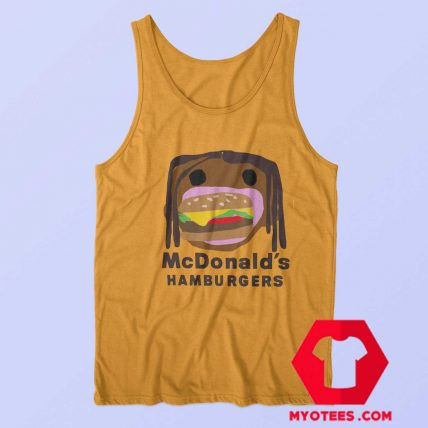Official CPFM Burger Travis Scott x Mcdonalds Tank Top